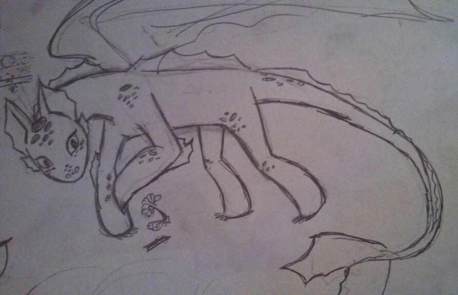 My Dragon by JenniferBee