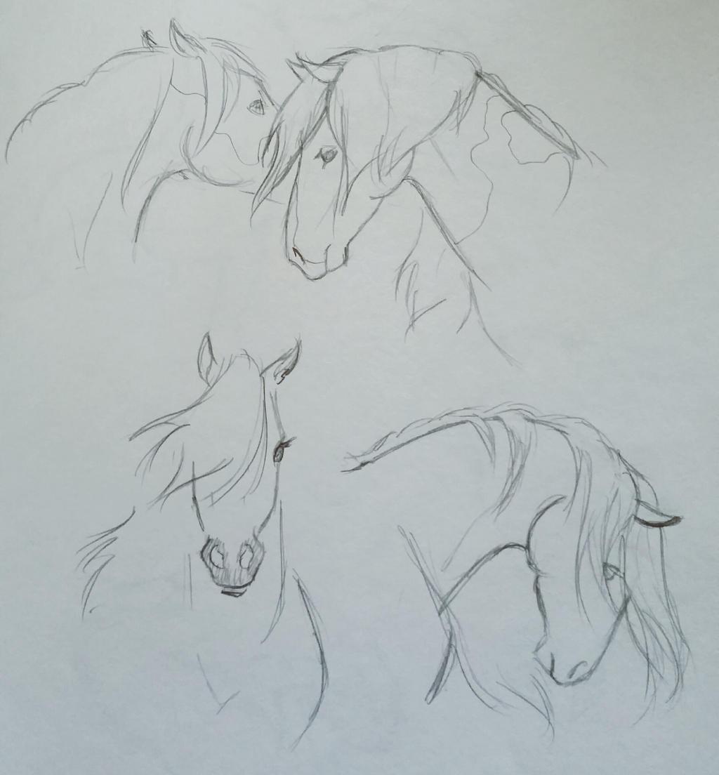 Horses by JenniferBee