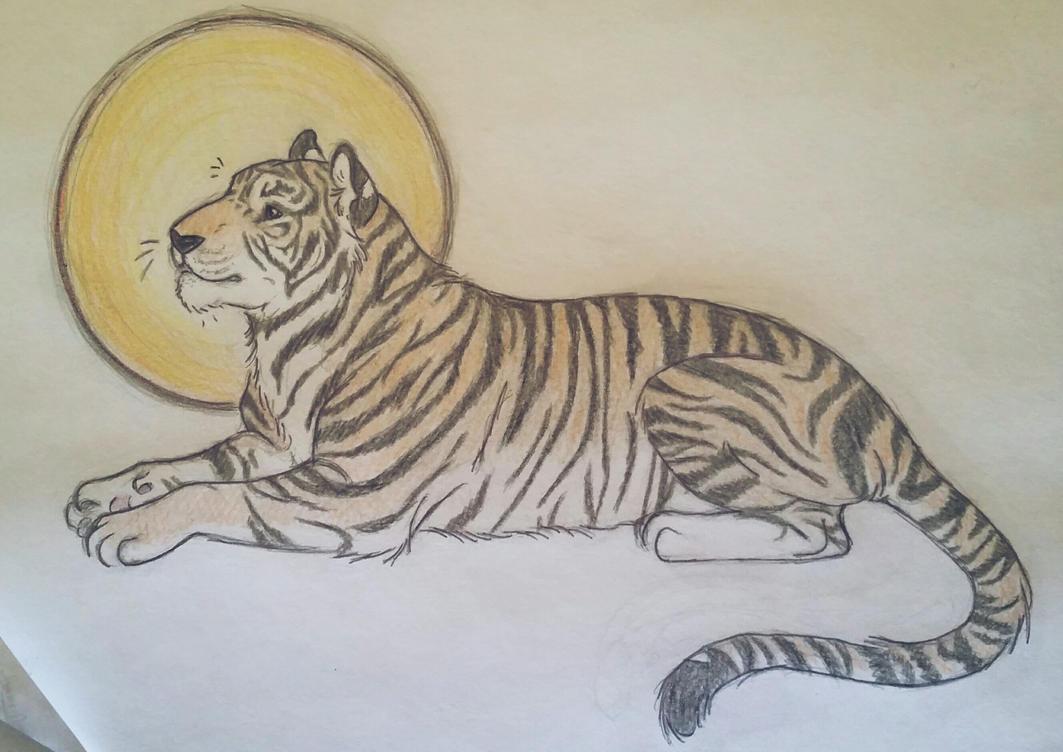 Tiger by JenniferBee