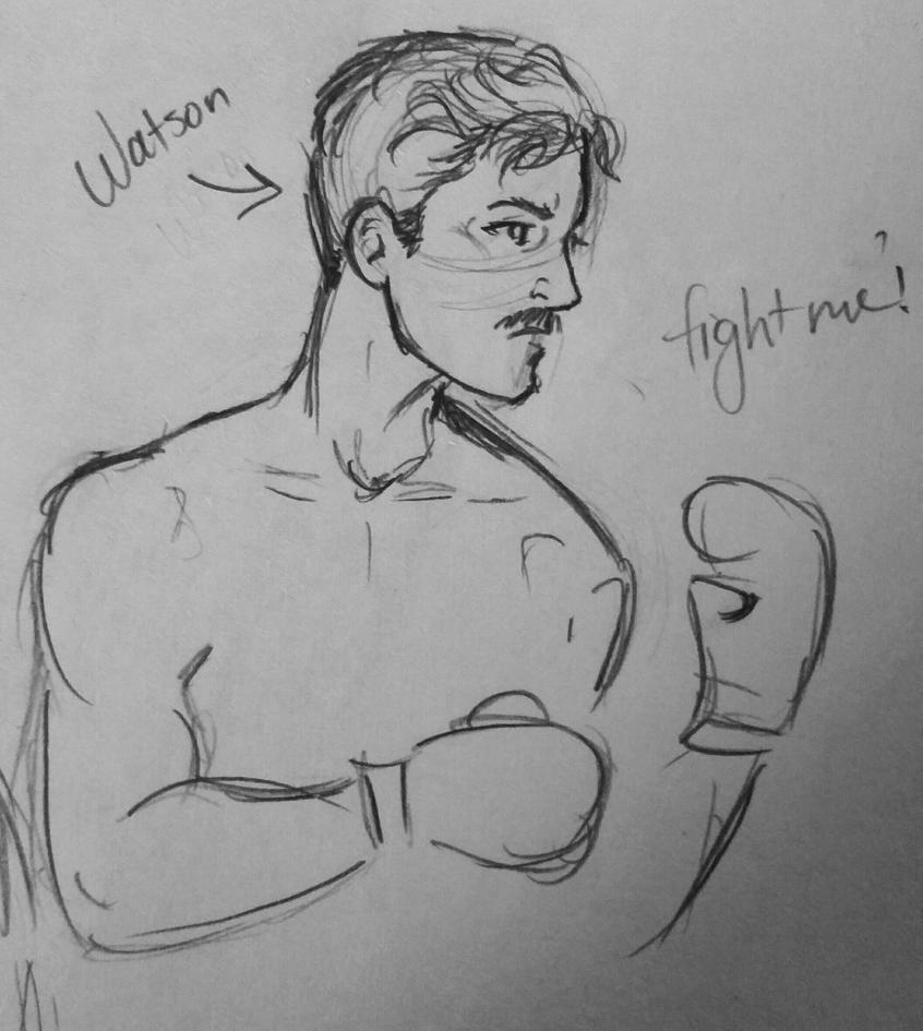 Fight me! by JenniferBee