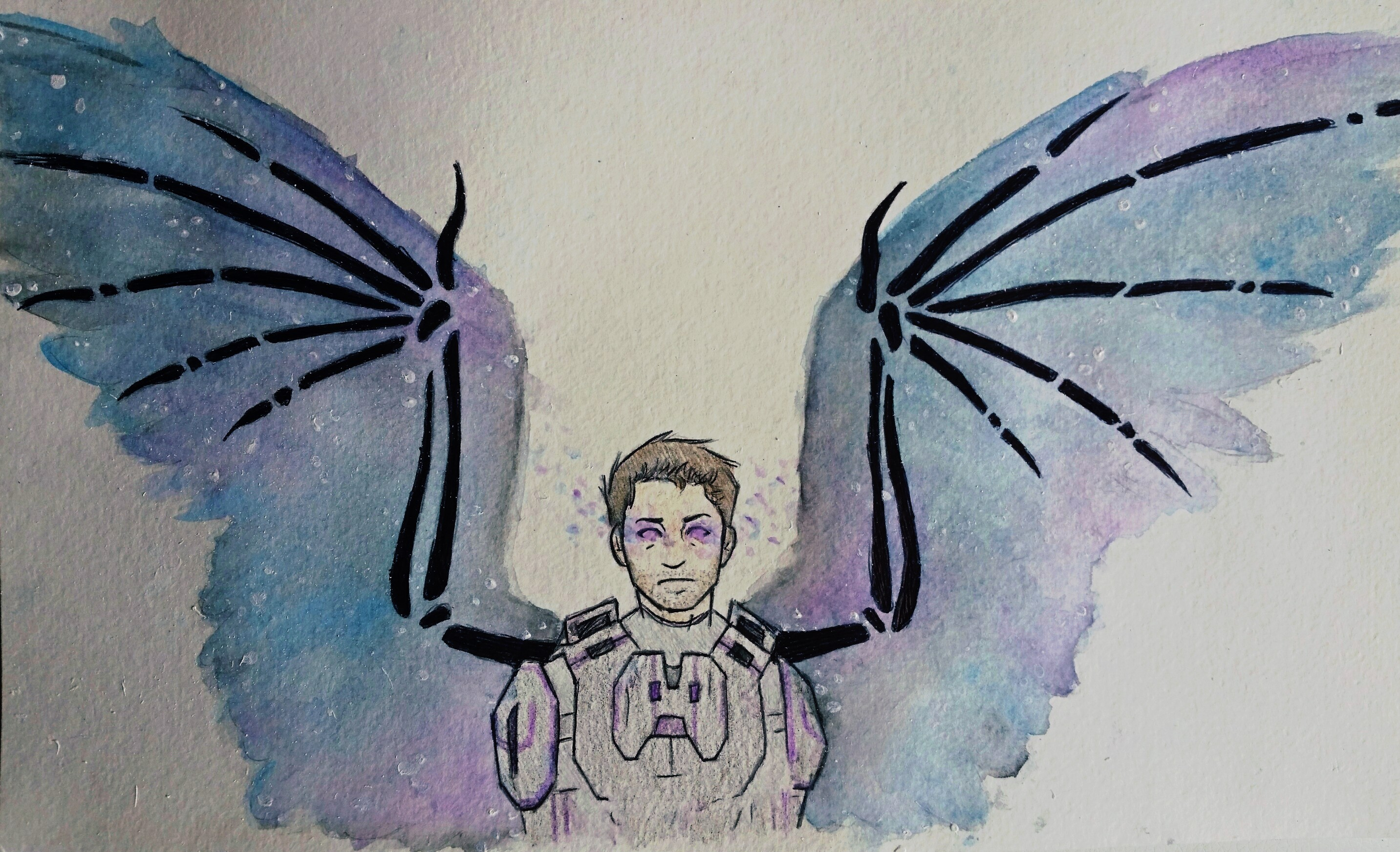 Watercolor Cas by JenniferBee