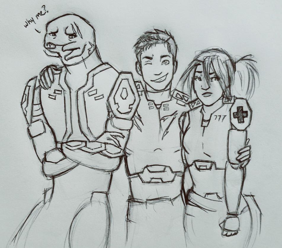 Team Spirit? by JenniferBee