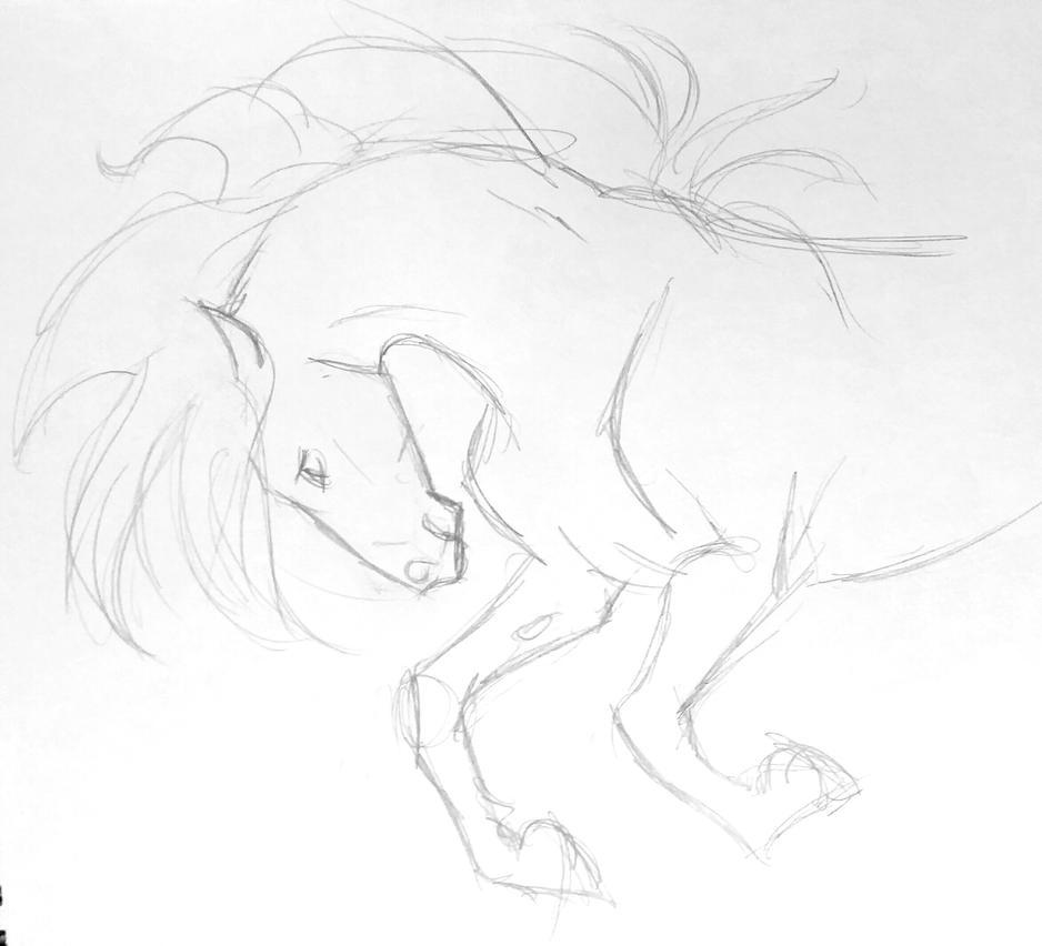 Horse by JenniferBee