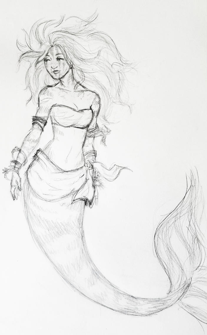 Mermaid by JenniferBee