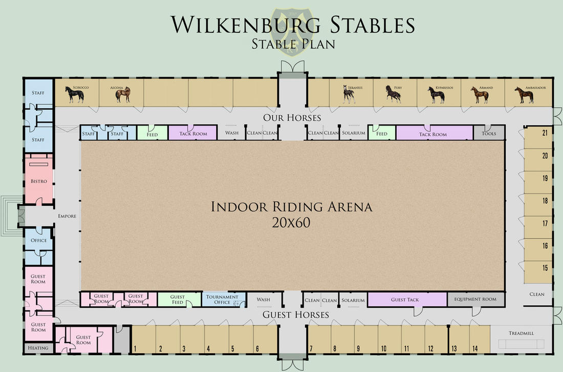 Wilkenburg Stables Stable Plan by Tigra1988