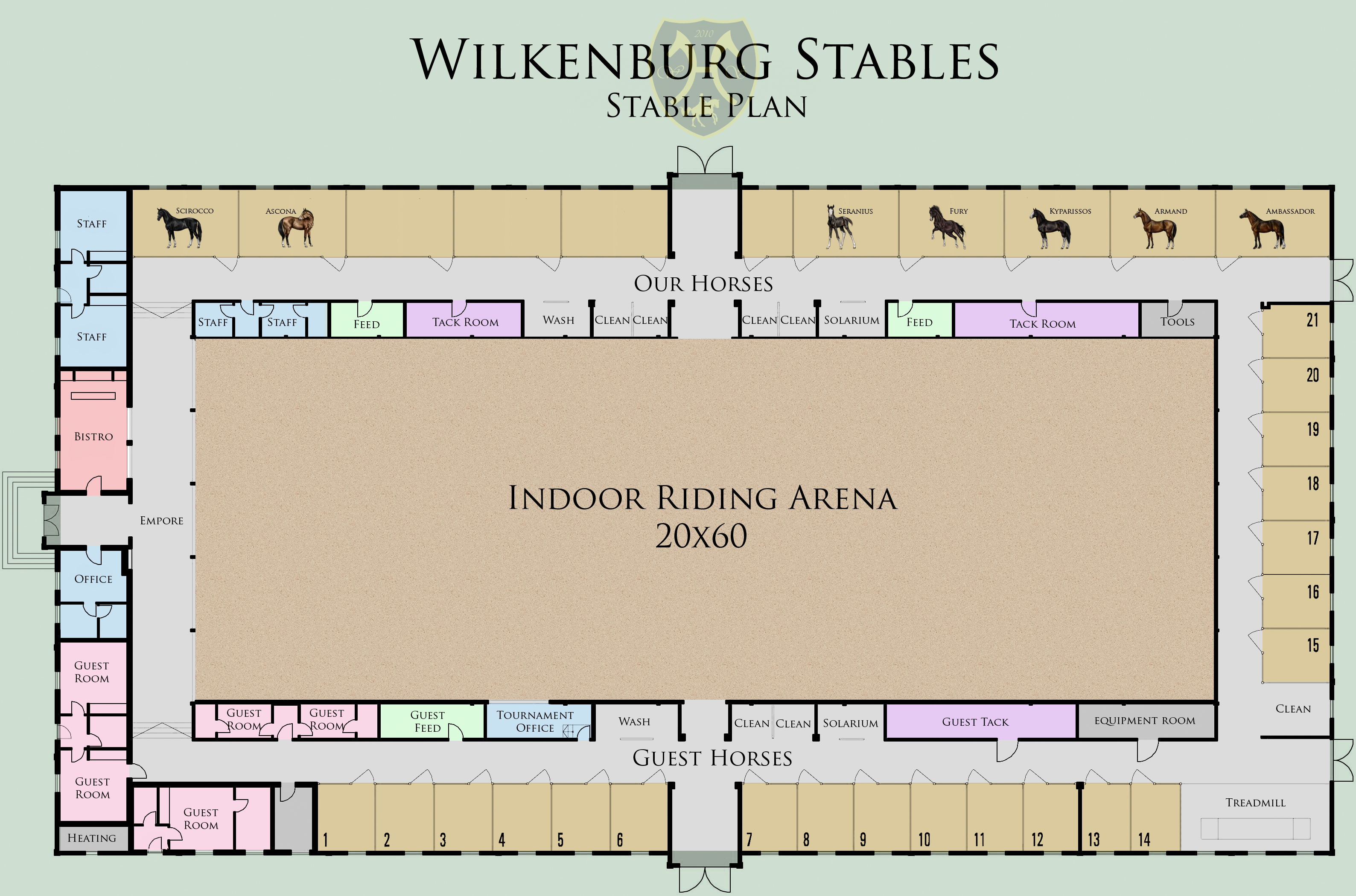 Wilkenburg stables stable plan by tigra1988 on deviantart for Horse stable blueprints