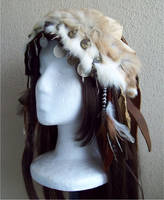 Woodland Headdress by Xavietta