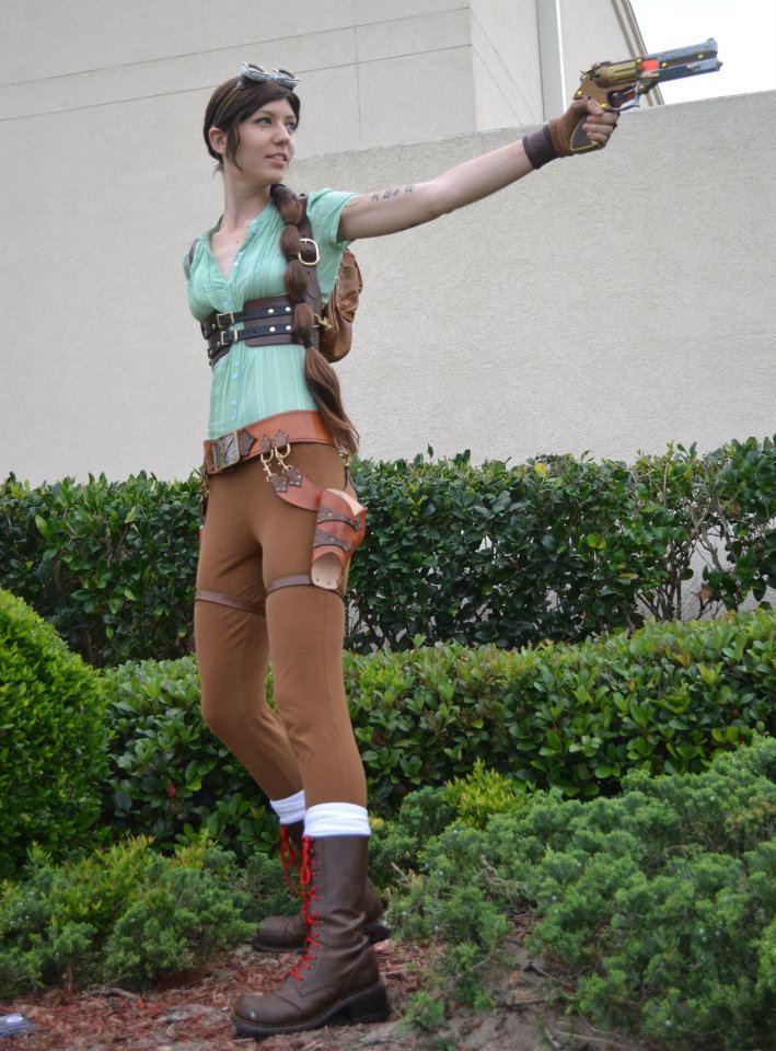 Steampunk Lara 2 by Xavietta