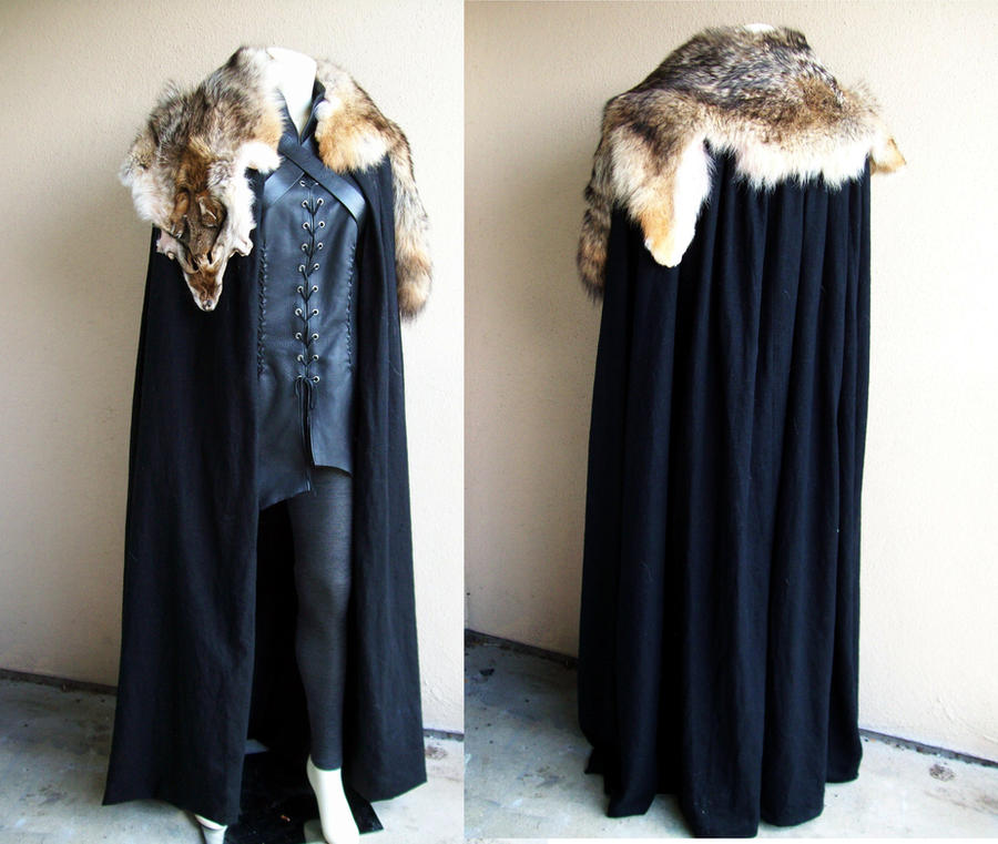 Cloak of Winterfell by Xavietta