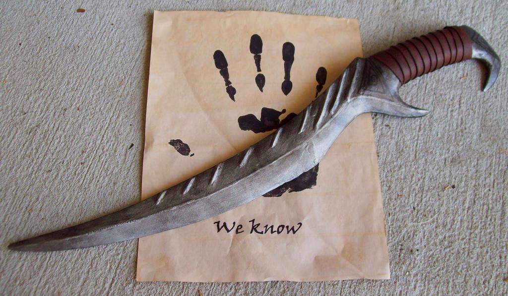 Blade of Woe is Me by Xavietta