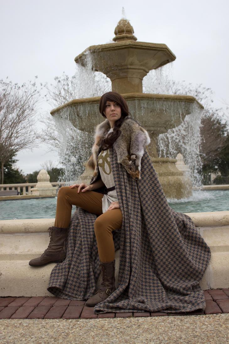 New Winterfell Cloak by Xavietta