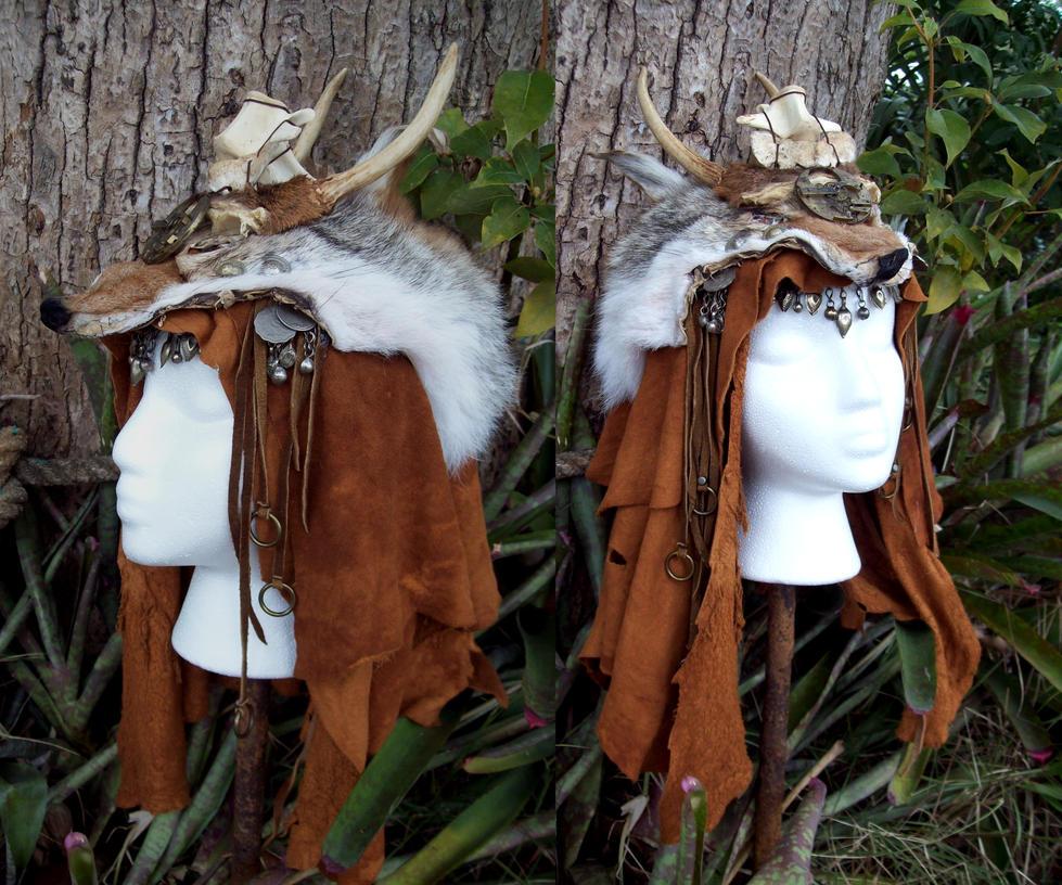 Tiny Antlers Headdress by Xavietta