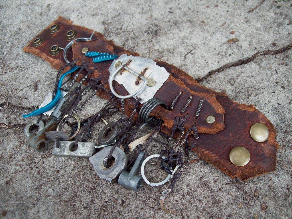 Wasteland Charm Bracelets by Xavietta