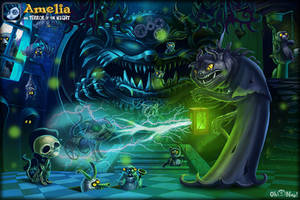 Amelia and Terror of the Night #7 by ser1o