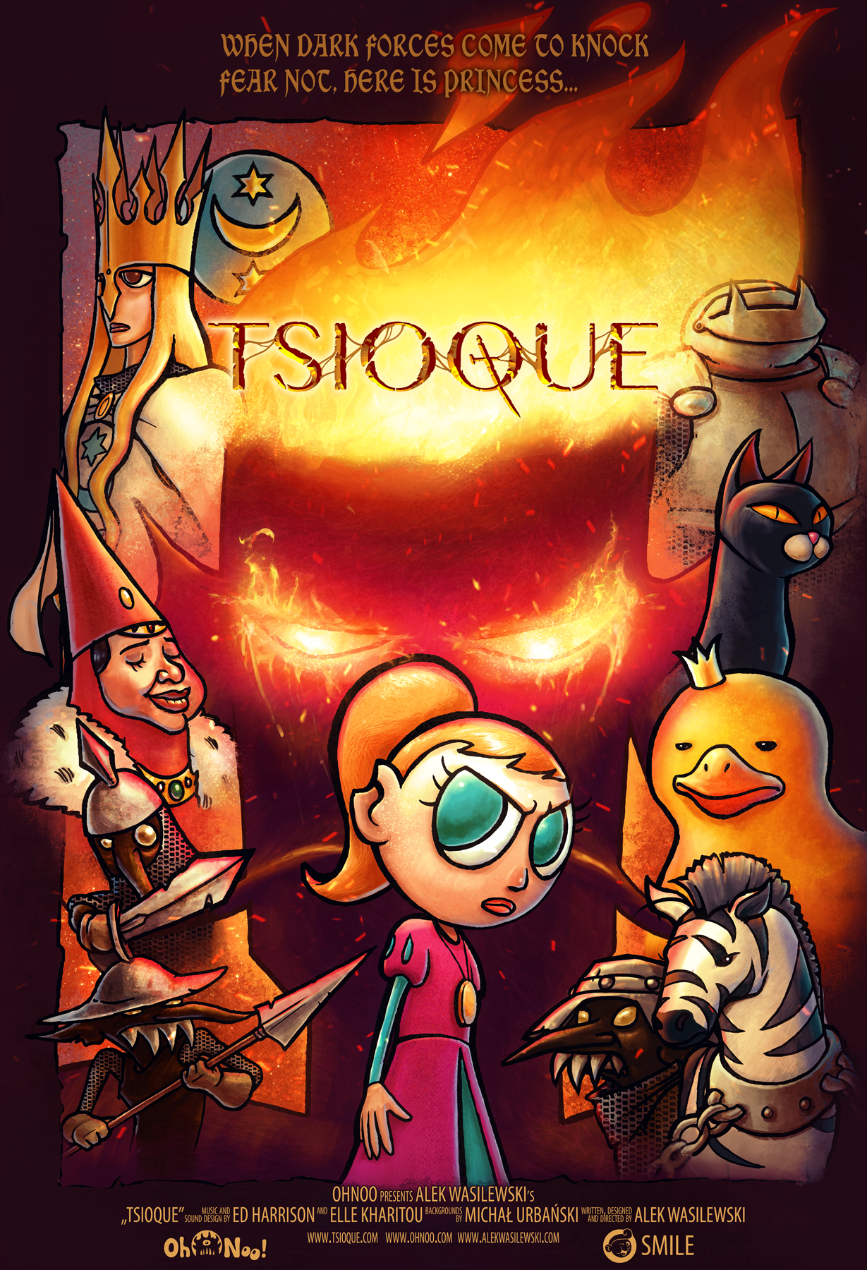 Tsioque - 2D point and click adventure game by ser1o
