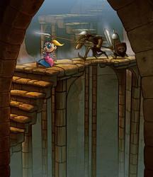 Tsioque - 2D adventure game -screen#1