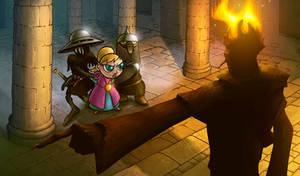 Tsioque - 2D adventure game -screen#2