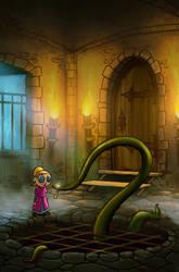 Tsioque - 2D adventure game -screen#3