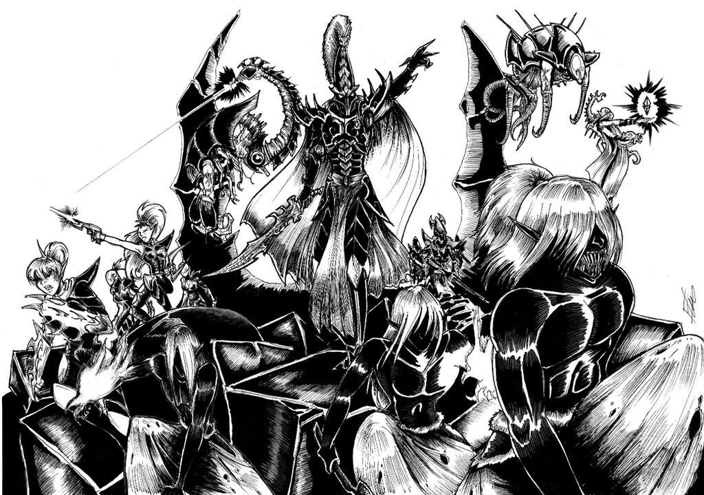 Concours de dessin The_raid_by_lunargue-d84sz8h