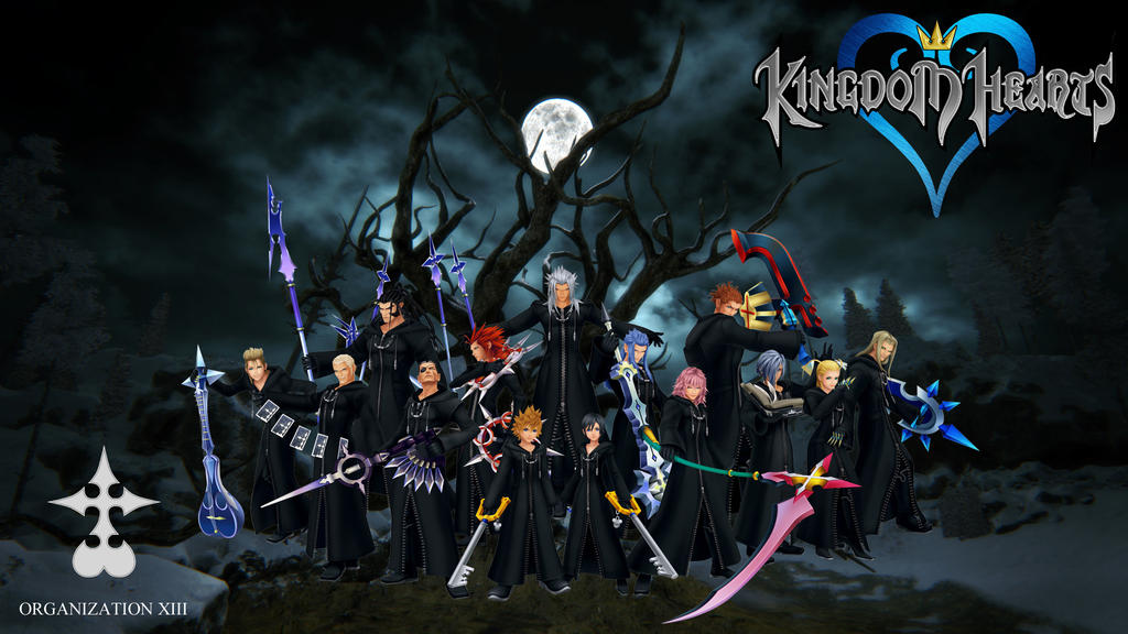 Organization Xiii Wallpaper By Metritgaming On Deviantart