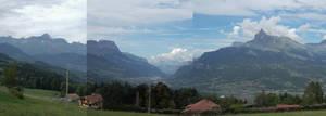 Panorama : Sallanches