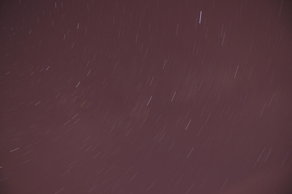 Star trails : 15 minutes by sylesis