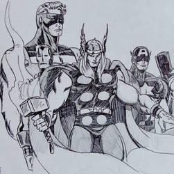 Avengers by marcusjacksoncincy