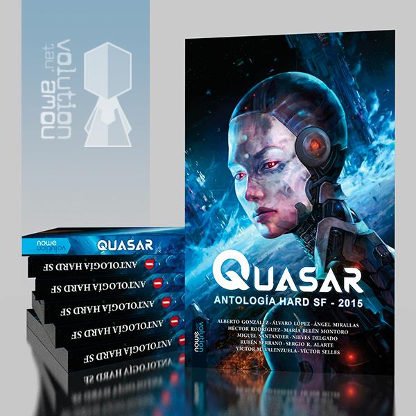 Quasar - Antologia SF 2015 by nowevolution