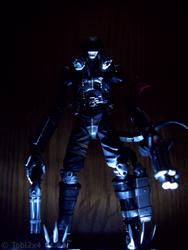 Beelzemon in the Darkness