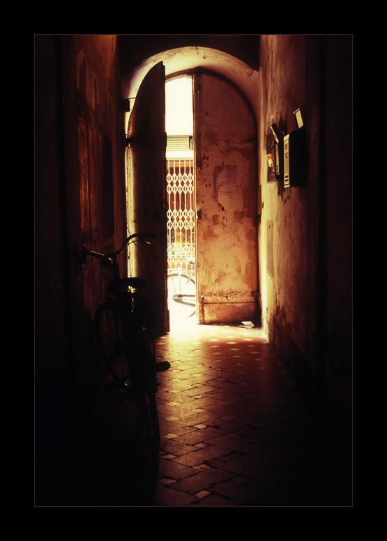 Bike and Door by tophyr