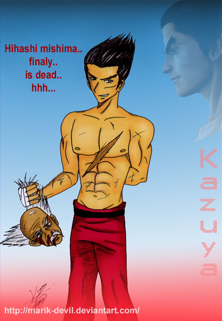 kazuya_win_Tekken by marik-devil