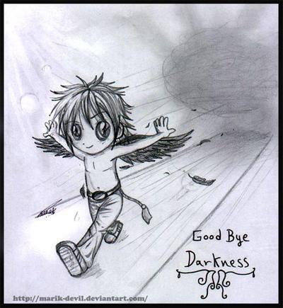 Good Bye .:DarknesS:. by marik-devil
