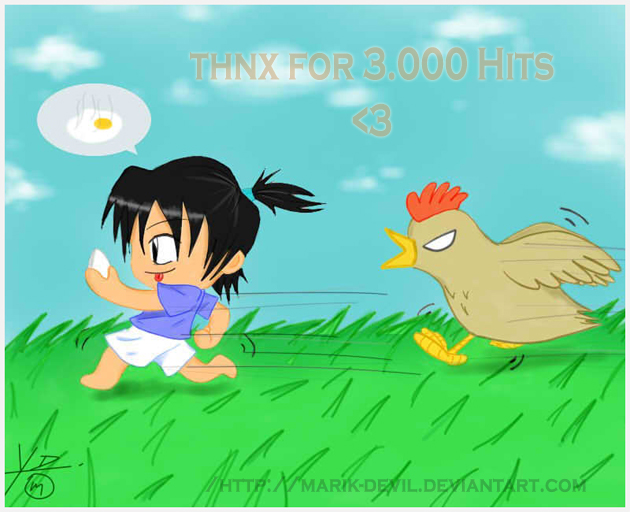 Thnx For 3000Hits by marik-devil