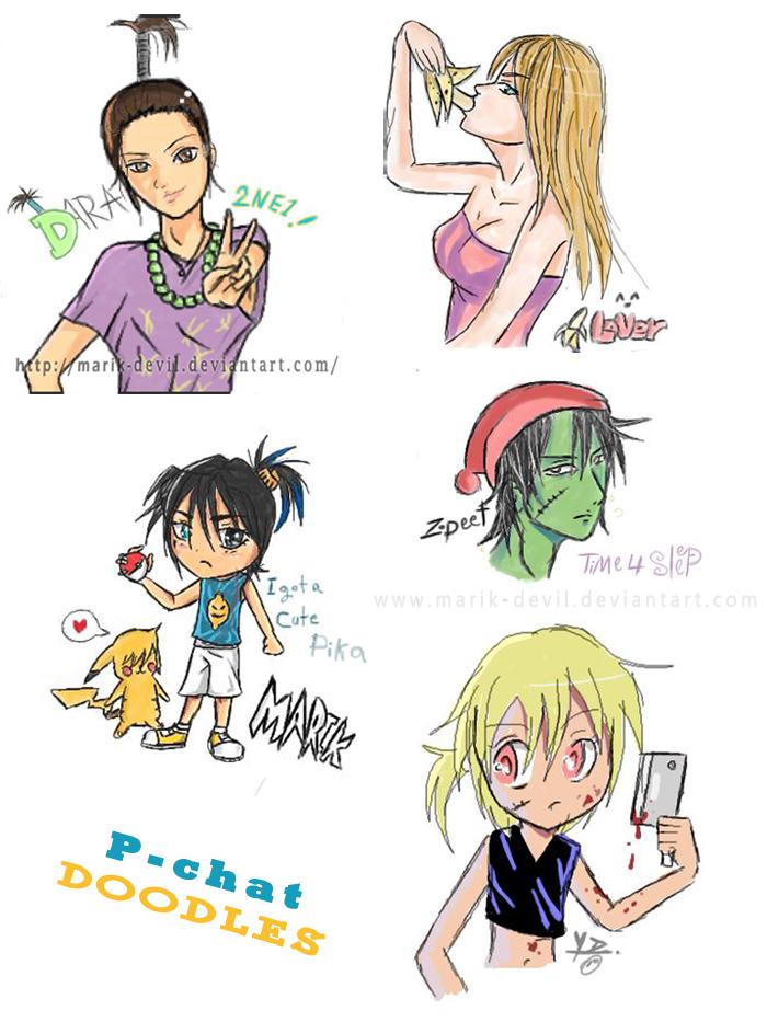 pchat-doodles by marik-devil