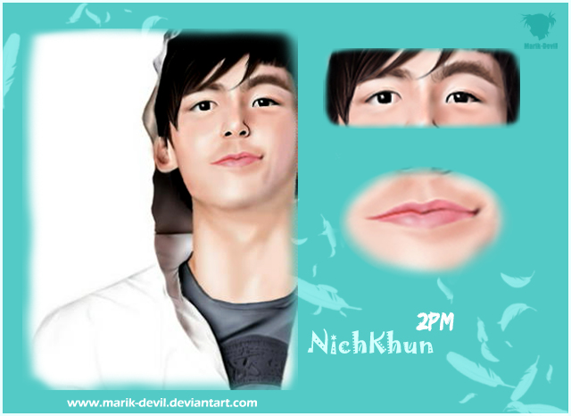 NichKhun - Close up by marik-devil