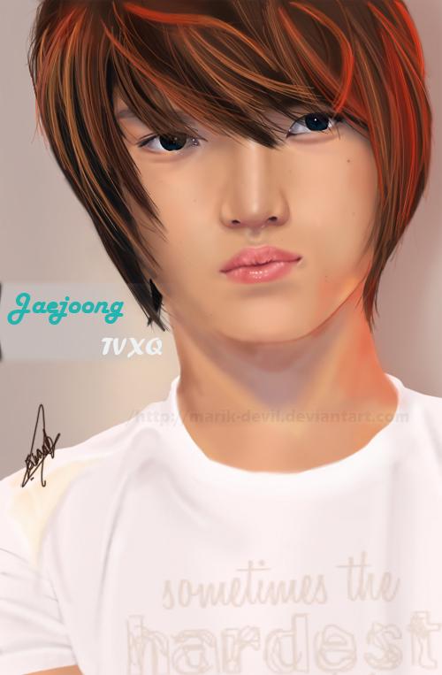 TVXQ - Jaejoong by marik-devil