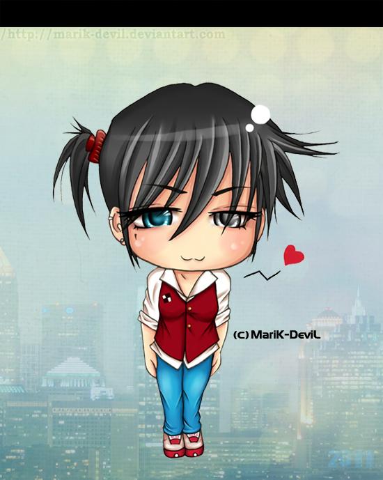 Myself OC - Chibi by marik-devil