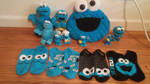 Cookie Monster Collection by FluffySnuffy