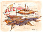 Regal Steam Airship