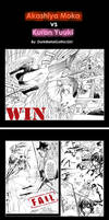 Moka vs Yuuki by DarkMetalGothicGirl