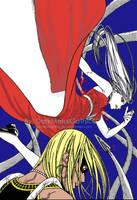 Moka vs Gyokuro by DarkMetalGothicGirl