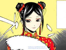 Huang Tian Tian by DarkMetalGothicGirl