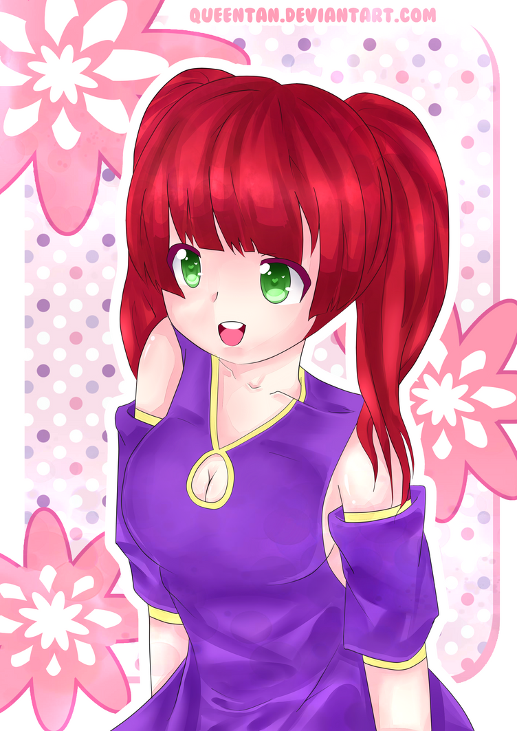 'First Time Drawing Digitally' ReDraw! by queentan