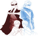 Miraluka Jedi and Sith Brothers