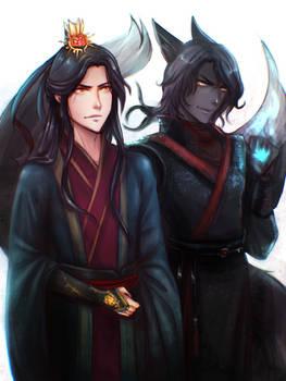 Original: Min Wen and the Black Fox Spirit