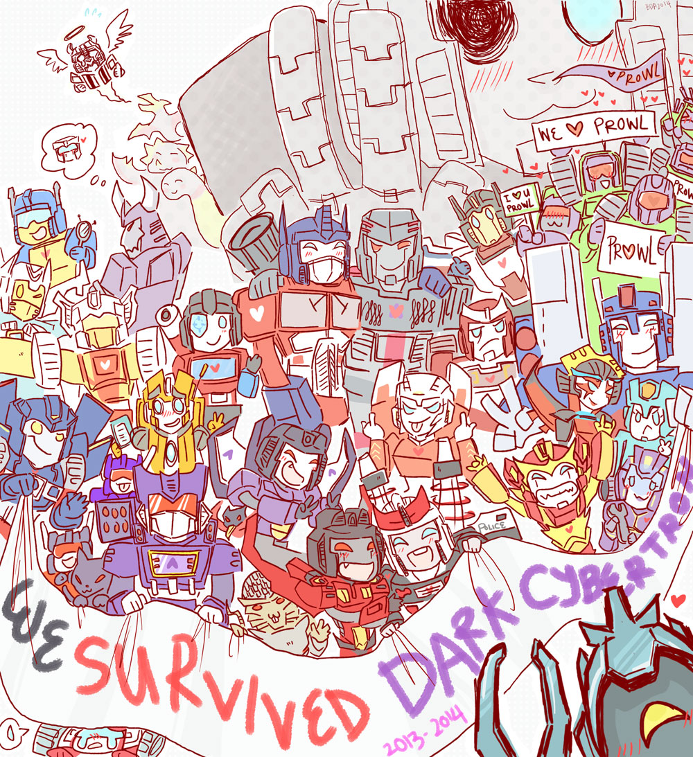 We Survived Dark Cybertron by BrokenDeathAngel