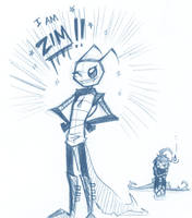 I am ZIM by BrokenDeathAngel