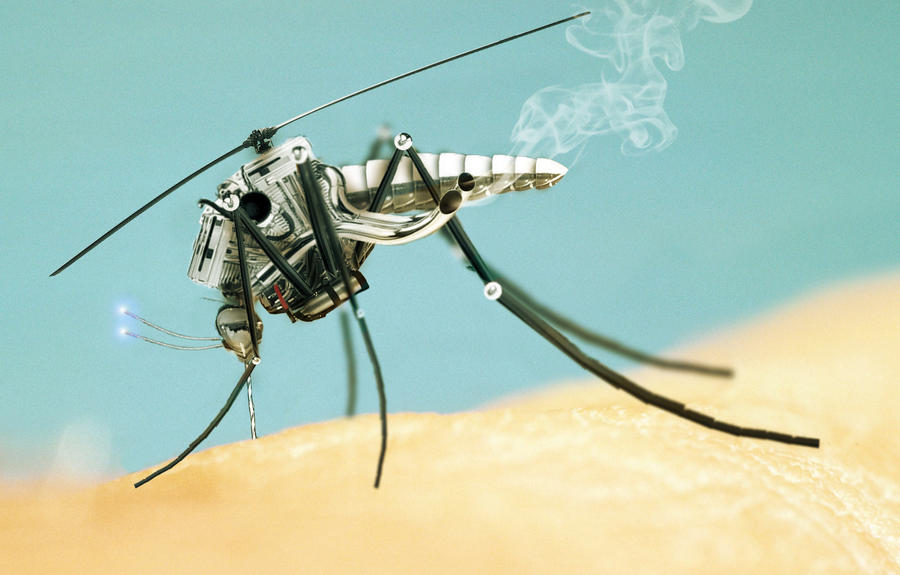 Mechanical Mosquito by Rockwaved