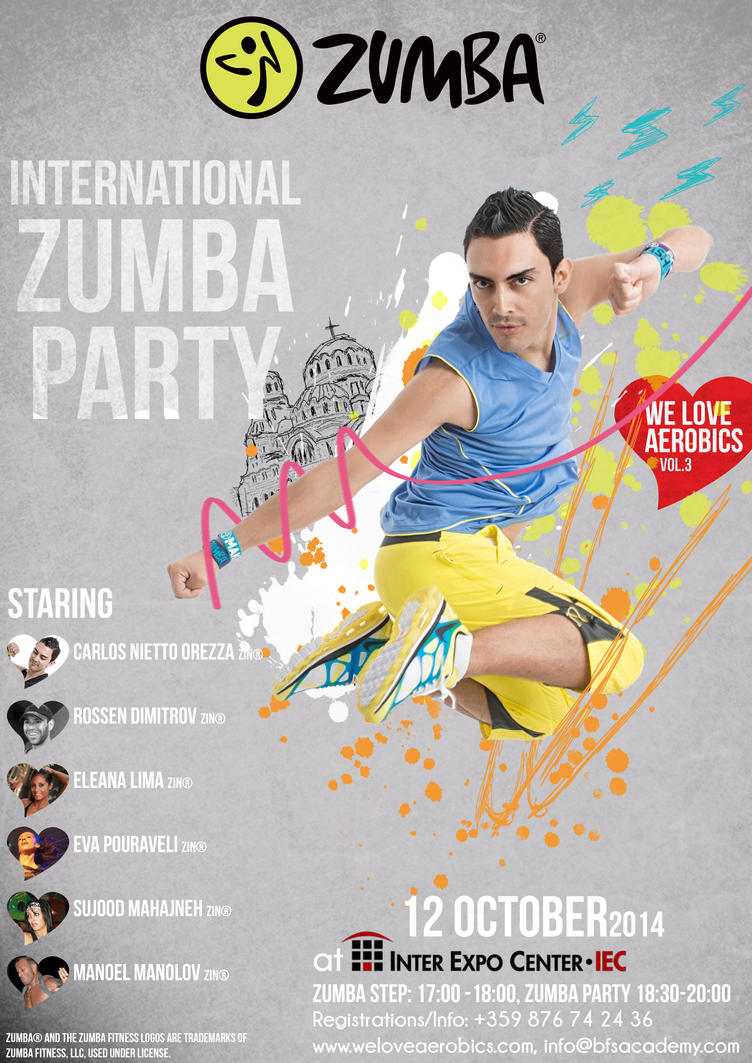 Zumba International Party by Rockwaved
