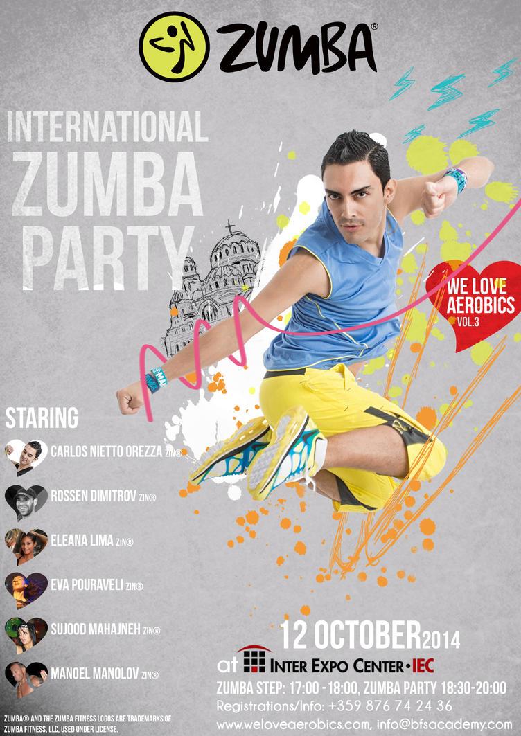 Zumba International Party by Rockwaved